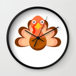Happy Thanksgiving best gift for family and friends Wall Clock