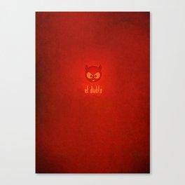 el diablo Canvas Print