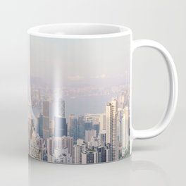 Hong Kong skyline by day Coffee Mug
