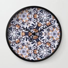 cigarettes pattern Wall Clock