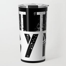 Hit The Gym Travel Mug