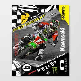 Ryan Villopoto Canvas Print