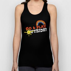 Go & Play Outside! Unisex Tank Top