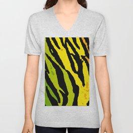Rainbow Tiger Unisex V-Neck