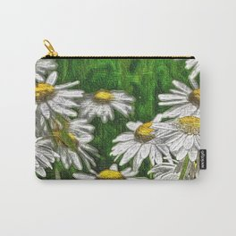 Floral Art 4 Carry-All Pouch