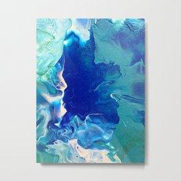 Deep Sea Mounts Metal Print