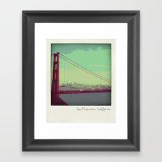 Golden Gate Bridge from Marin Framed Art Print