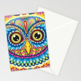 Tropicalia Owl Art Stationery Cards