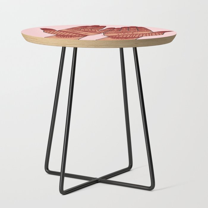 thank_u_next_Side_Table_by_emmenjaan__Black__Round