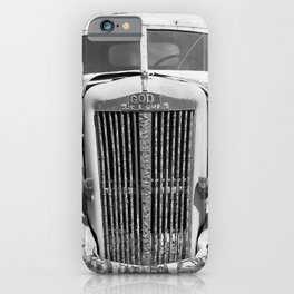God is Love Vintage Truck, Salvation Mountain iPhone Case