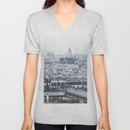 Rooftops - Architecture, Photography Unisex V-Neck