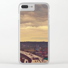 West Bottoms [Chromatic] Clear iPhone Case