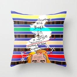 Scumbag Art Dealer Throw Pillow