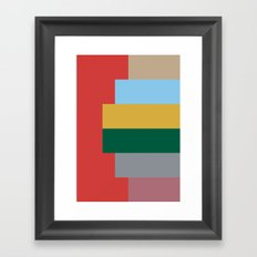 moda v.3 Framed Art Print