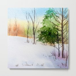 Winter scenery #14 Metal Print