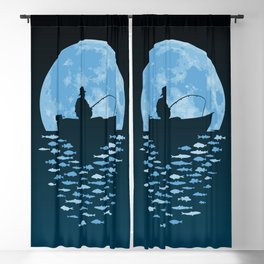 Hooked by Moonlight Blackout Curtain