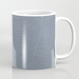 Light Slate Gray Marks Coffee Mug