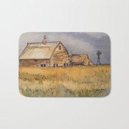Barns and Windmill Bath Mat