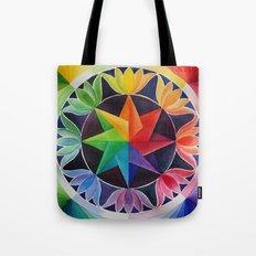 Star Mandala Tote Bag