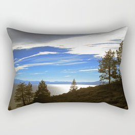 Shadowy North Lake Tahoe Rectangular Pillow