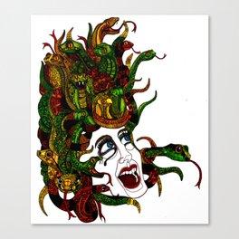 Medusa! Canvas Print