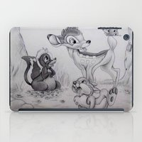 bambi iPad Cases featuring Bambi by Lynsie Petig
