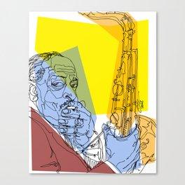 Ben Webster Canvas Print