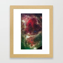 W5 Wallpaper Framed Art Print