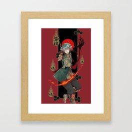 hozuki Framed Art Print