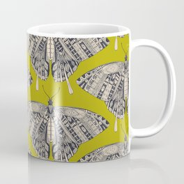 swallowtail butterfly citron basalt Coffee Mug