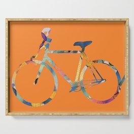 Bike 22 by Leslie Harlow Serving Tray