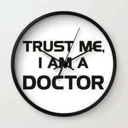 Trust me, I am a Doctor Wall Clock