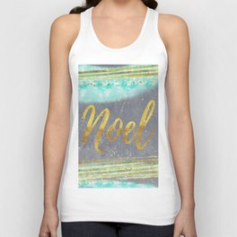 NOEL-Merry modern abstract christmas Unisex Tank Top