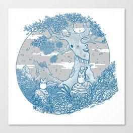 Chibi totor os Canvas Print