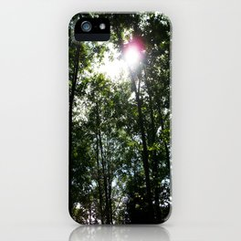 Afternoon Sun • Northpointe Fitness Park & Nature Trails • Marysville, WA iPhone Case