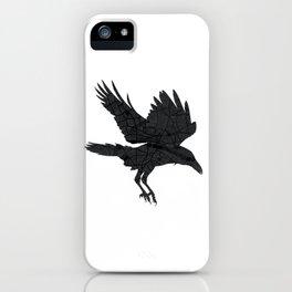 London, as the Raven Flies iPhone Case