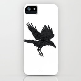 London, as the Raven Flies iPhone Case
