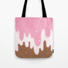 Summer Sweets:  Neapolitan Galaxy Tote Bag