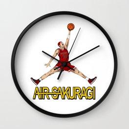 """Air Sakuragi"" Slam Dunk Anime Creative Design Wall Clock"