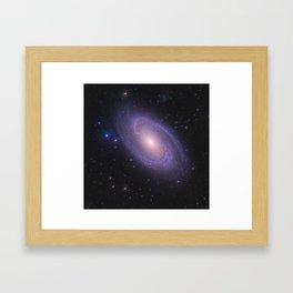 Spiral Galaxy Space Image Framed Art Print