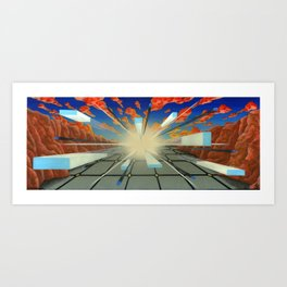 Projected Perspective Art Print