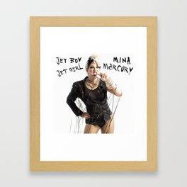 Jet Boy, Jet Girl Framed Art Print