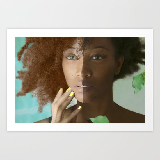 Don't Tell Her She's Pretty For A Darkskin Girl  Art Print