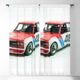 BRE Racing 510 Vintage JDM SCCA Championship Classic Automobile No. 2 Blackout Curtain