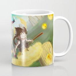 A ride with Son Goku Coffee Mug