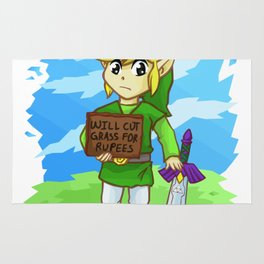 Will cut grass for rupees Rug