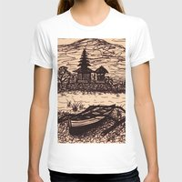 bali T-shirts featuring Bali Boating by Erica Putis