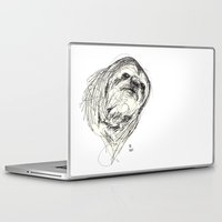 sloth Laptop & iPad Skins featuring Sloth by Ursula Rodgers
