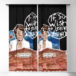 Chairwoman Maxine Waters Blackout Curtain