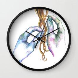 Strands Wall Clock
